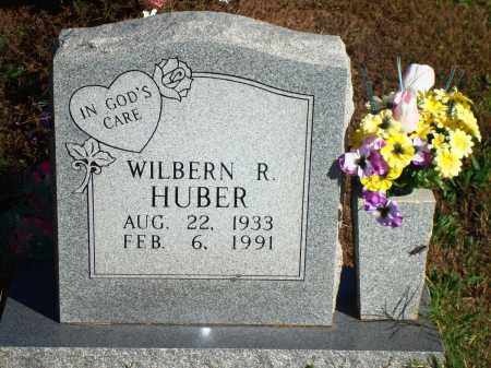 HUBER, WILBERN R. - Newton County, Arkansas | WILBERN R. HUBER - Arkansas Gravestone Photos
