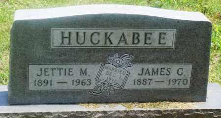 HUCKABEE, JETTIE M - Newton County, Arkansas | JETTIE M HUCKABEE - Arkansas Gravestone Photos