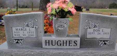 HUGHES, MARGE L. - Newton County, Arkansas | MARGE L. HUGHES - Arkansas Gravestone Photos