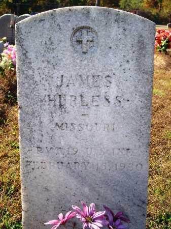 HURLESS (VETERAN), JAMES - Newton County, Arkansas   JAMES HURLESS (VETERAN) - Arkansas Gravestone Photos