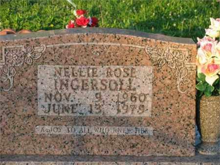 INGERSOLL, NELLIE ROSE - Newton County, Arkansas   NELLIE ROSE INGERSOLL - Arkansas Gravestone Photos