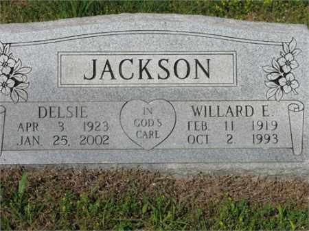 JACKSON, DELSIE - Newton County, Arkansas | DELSIE JACKSON - Arkansas Gravestone Photos