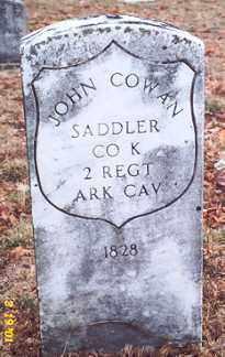 COWAN (VETERAN UNION), JOHN - Newton County, Arkansas | JOHN COWAN (VETERAN UNION) - Arkansas Gravestone Photos