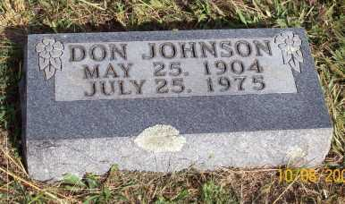 JOHNSON, DON - Newton County, Arkansas | DON JOHNSON - Arkansas Gravestone Photos