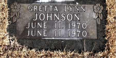 JOHNSON, GRETTA LYNN - Newton County, Arkansas | GRETTA LYNN JOHNSON - Arkansas Gravestone Photos