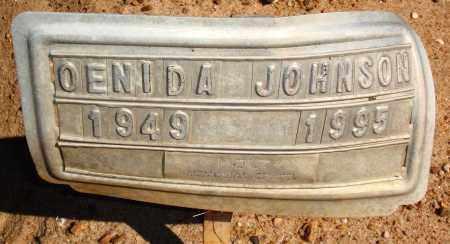 JOHNSON, OENIDA - Newton County, Arkansas | OENIDA JOHNSON - Arkansas Gravestone Photos