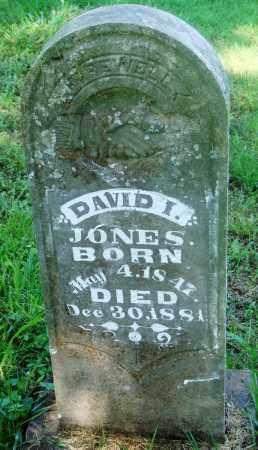 JONES, DAVID I - Newton County, Arkansas | DAVID I JONES - Arkansas Gravestone Photos