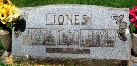 JONES, ERMON - Newton County, Arkansas | ERMON JONES - Arkansas Gravestone Photos