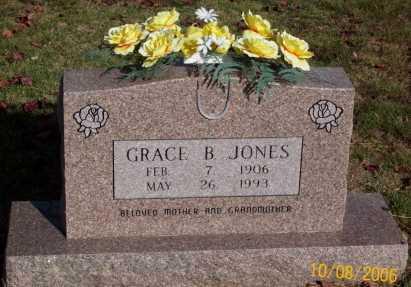 JONES, GRACE B. - Newton County, Arkansas | GRACE B. JONES - Arkansas Gravestone Photos