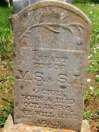 JONES, INFANT SON - Newton County, Arkansas   INFANT SON JONES - Arkansas Gravestone Photos