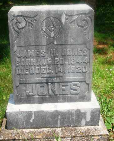 JONES, JAMES H - Newton County, Arkansas | JAMES H JONES - Arkansas Gravestone Photos