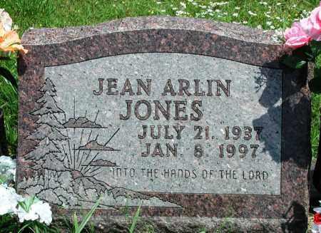JONES, JEAN ARLIN - Newton County, Arkansas   JEAN ARLIN JONES - Arkansas Gravestone Photos