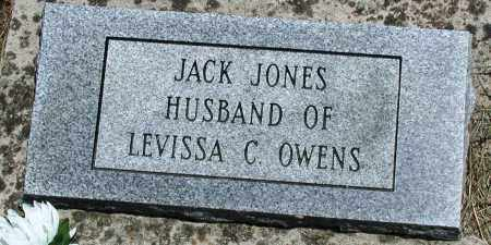 JONES, JACK - Newton County, Arkansas | JACK JONES - Arkansas Gravestone Photos