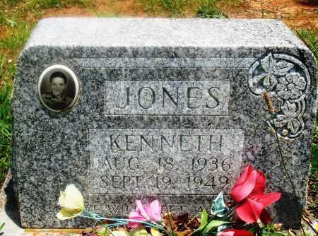 JONES, KENNETH - Newton County, Arkansas | KENNETH JONES - Arkansas Gravestone Photos