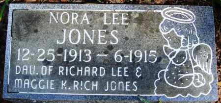 JONES, NORA LEE - Newton County, Arkansas | NORA LEE JONES - Arkansas Gravestone Photos