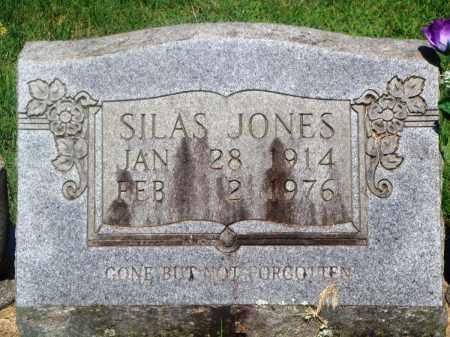 JONES, SILAS - Newton County, Arkansas   SILAS JONES - Arkansas Gravestone Photos
