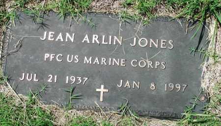 JONES (VETERAN), JEAN ARLIN - Newton County, Arkansas   JEAN ARLIN JONES (VETERAN) - Arkansas Gravestone Photos