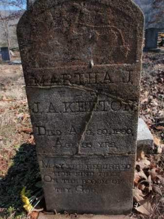 KEETON, MARTHA JANE - Newton County, Arkansas | MARTHA JANE KEETON - Arkansas Gravestone Photos