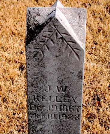 KELLEY, J. W. - Newton County, Arkansas | J. W. KELLEY - Arkansas Gravestone Photos