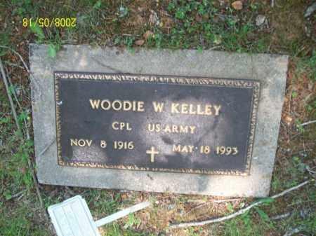 KELLEY  (VETERAN), WOODIE W - Newton County, Arkansas | WOODIE W KELLEY  (VETERAN) - Arkansas Gravestone Photos