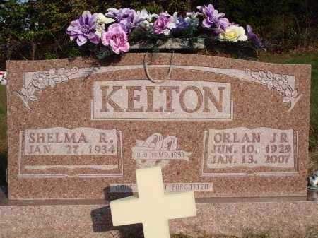 KELTON JR., ORLAN - Newton County, Arkansas | ORLAN KELTON JR. - Arkansas Gravestone Photos