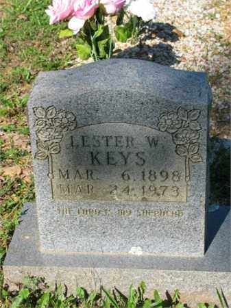 KEYS, LESTER W. - Newton County, Arkansas   LESTER W. KEYS - Arkansas Gravestone Photos
