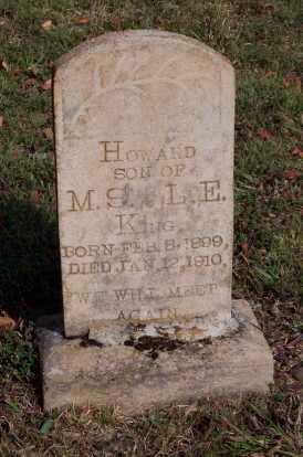 KING, HOWARD - Newton County, Arkansas | HOWARD KING - Arkansas Gravestone Photos