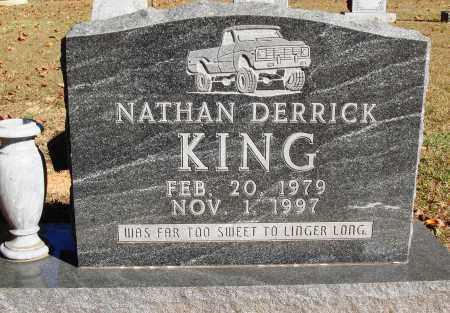 KING, NATHAN DERRICK - Newton County, Arkansas   NATHAN DERRICK KING - Arkansas Gravestone Photos