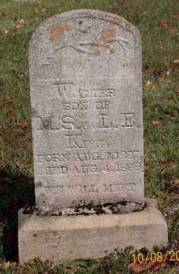 KING, WALTER - Newton County, Arkansas | WALTER KING - Arkansas Gravestone Photos