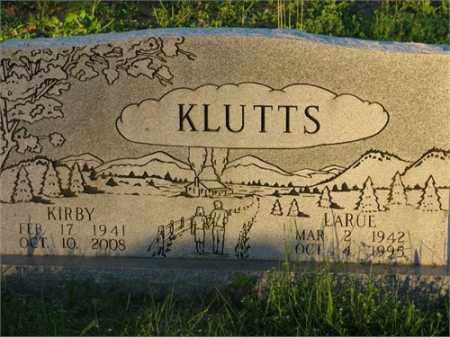KLUTTS, LARUE - Newton County, Arkansas | LARUE KLUTTS - Arkansas Gravestone Photos