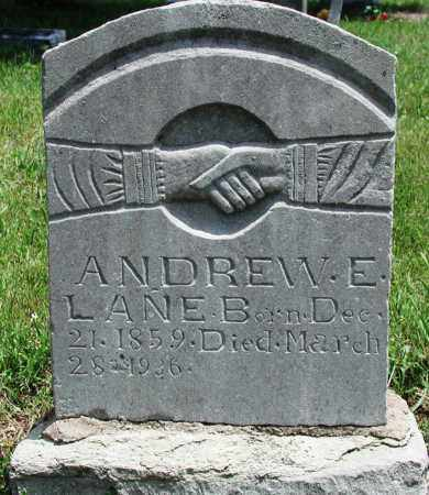 LANE, ANDREW ELEX - Newton County, Arkansas | ANDREW ELEX LANE - Arkansas Gravestone Photos
