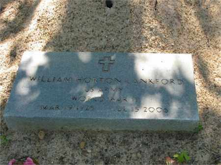 LANKFORD (VETERAN WWII), WILLIAM HORTON - Newton County, Arkansas   WILLIAM HORTON LANKFORD (VETERAN WWII) - Arkansas Gravestone Photos
