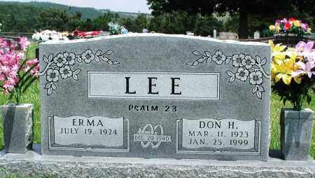 LEE, DON H - Newton County, Arkansas | DON H LEE - Arkansas Gravestone Photos