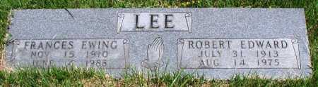 EWING LEE, FRANCES - Newton County, Arkansas | FRANCES EWING LEE - Arkansas Gravestone Photos