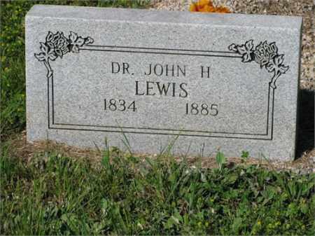 LEWIS, JOHN H. - Newton County, Arkansas | JOHN H. LEWIS - Arkansas Gravestone Photos