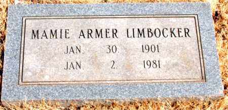 LIMBLOCKER, MAMIE - Newton County, Arkansas | MAMIE LIMBLOCKER - Arkansas Gravestone Photos