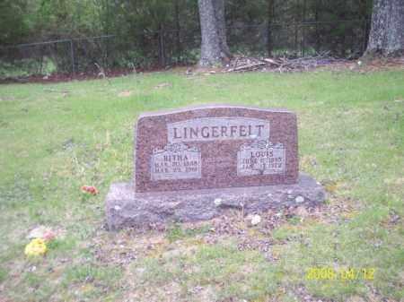 "LINGERFELT, MARIA TABITHA ""BITHA"" - Newton County, Arkansas | MARIA TABITHA ""BITHA"" LINGERFELT - Arkansas Gravestone Photos"