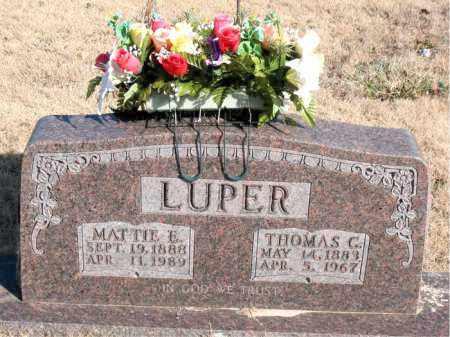 LUPER, THOMAS C. - Newton County, Arkansas   THOMAS C. LUPER - Arkansas Gravestone Photos