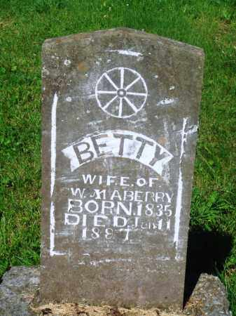 "JONES MABERRY, ELIZABETH ""BETTY"" - Newton County, Arkansas 