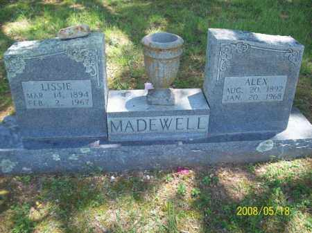 MADEWELL, LISSIE - Newton County, Arkansas | LISSIE MADEWELL - Arkansas Gravestone Photos