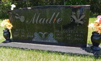 MADLE, GUSTER R. (DOCTOR) - Newton County, Arkansas | GUSTER R. (DOCTOR) MADLE - Arkansas Gravestone Photos