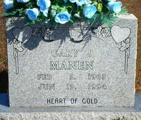 MANEN, GARY J. - Newton County, Arkansas | GARY J. MANEN - Arkansas Gravestone Photos