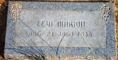 MARION, LEVI - Newton County, Arkansas | LEVI MARION - Arkansas Gravestone Photos