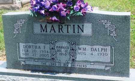 MARTIN, DORTHA F - Newton County, Arkansas   DORTHA F MARTIN - Arkansas Gravestone Photos