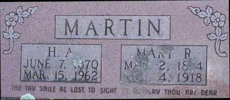 MARTIN, MARY R. - Newton County, Arkansas | MARY R. MARTIN - Arkansas Gravestone Photos
