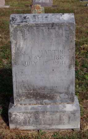 MARTIN, J. L. - Newton County, Arkansas   J. L. MARTIN - Arkansas Gravestone Photos