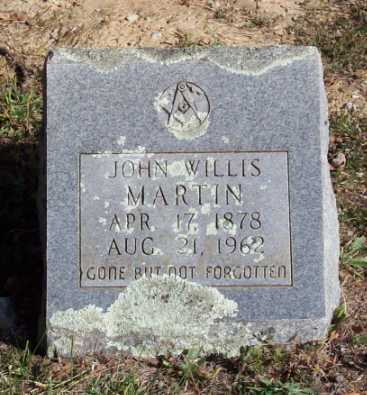 MARTIN, JOHN WILLIS - Newton County, Arkansas | JOHN WILLIS MARTIN - Arkansas Gravestone Photos