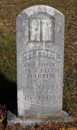 MARTIN, TLITHA - Newton County, Arkansas | TLITHA MARTIN - Arkansas Gravestone Photos