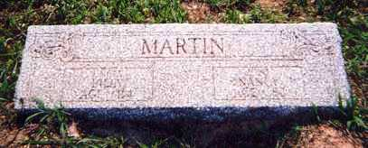 "MARTIN, WILLIAM ""BILLY"" - Newton County, Arkansas 