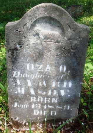 MASON, OZA A - Newton County, Arkansas | OZA A MASON - Arkansas Gravestone Photos